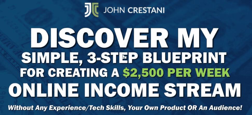 John Crestani 3 step blueprint