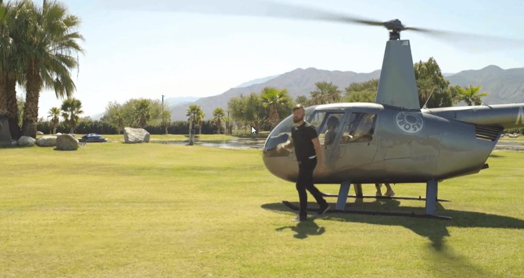 John Crestani Helicopter