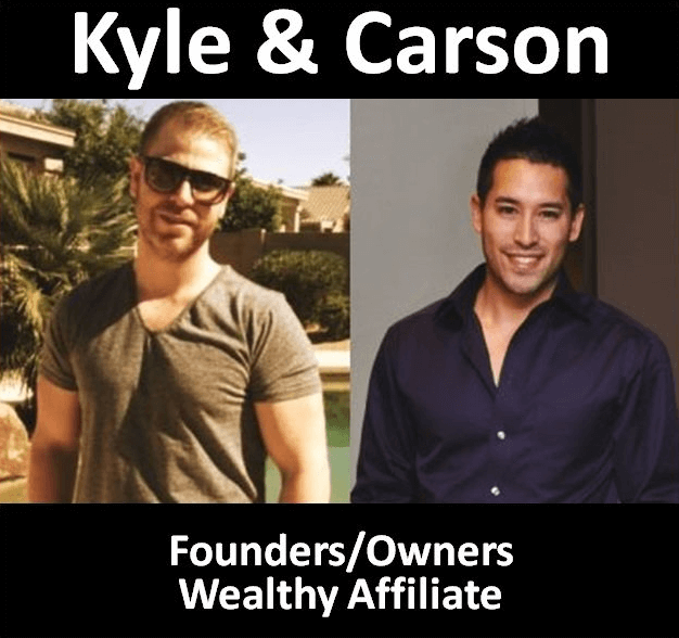 Kyle Loudon and Carson Lim