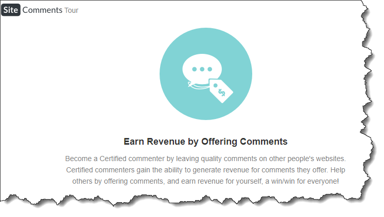 Wealthy Affiliate Site Comment