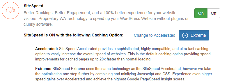 Wealthy Affiliate Site Speed
