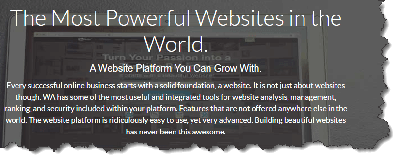 Wealthy Affiliate Websites