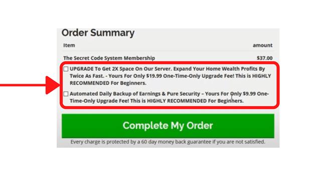 Secret Code System Ugrades