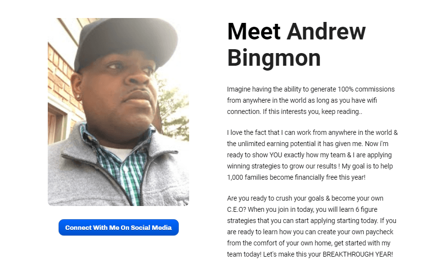 Infinity Processing System Andrew Bingmon