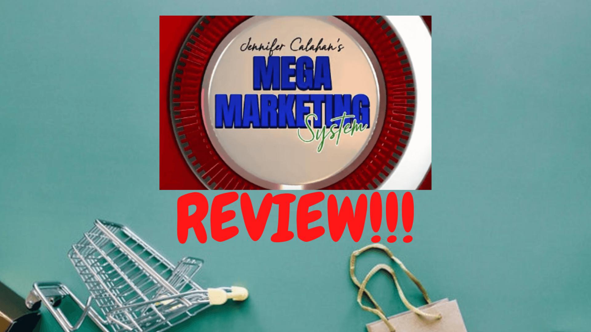 Mega Marketing System Front Page