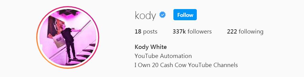 YT Money Instagram