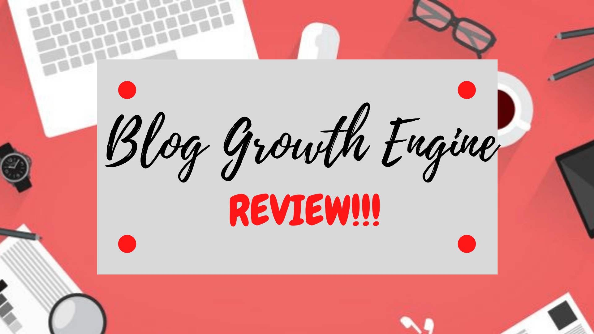 Blog Growth Engine Frontpage