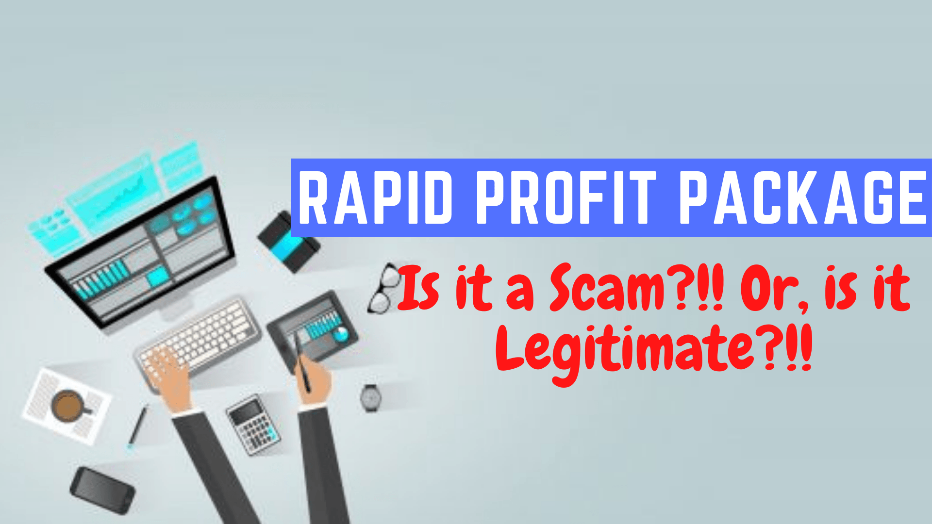 Rapid Profit Package Front Page Image