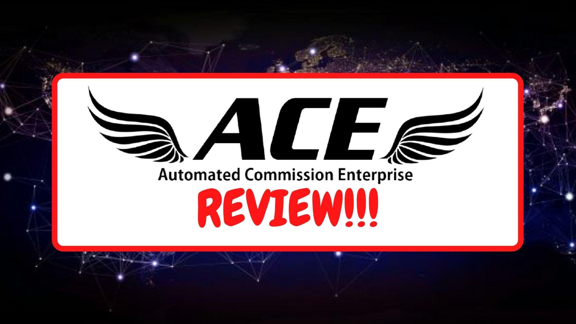 Automated Commission Enterprise Frontpage