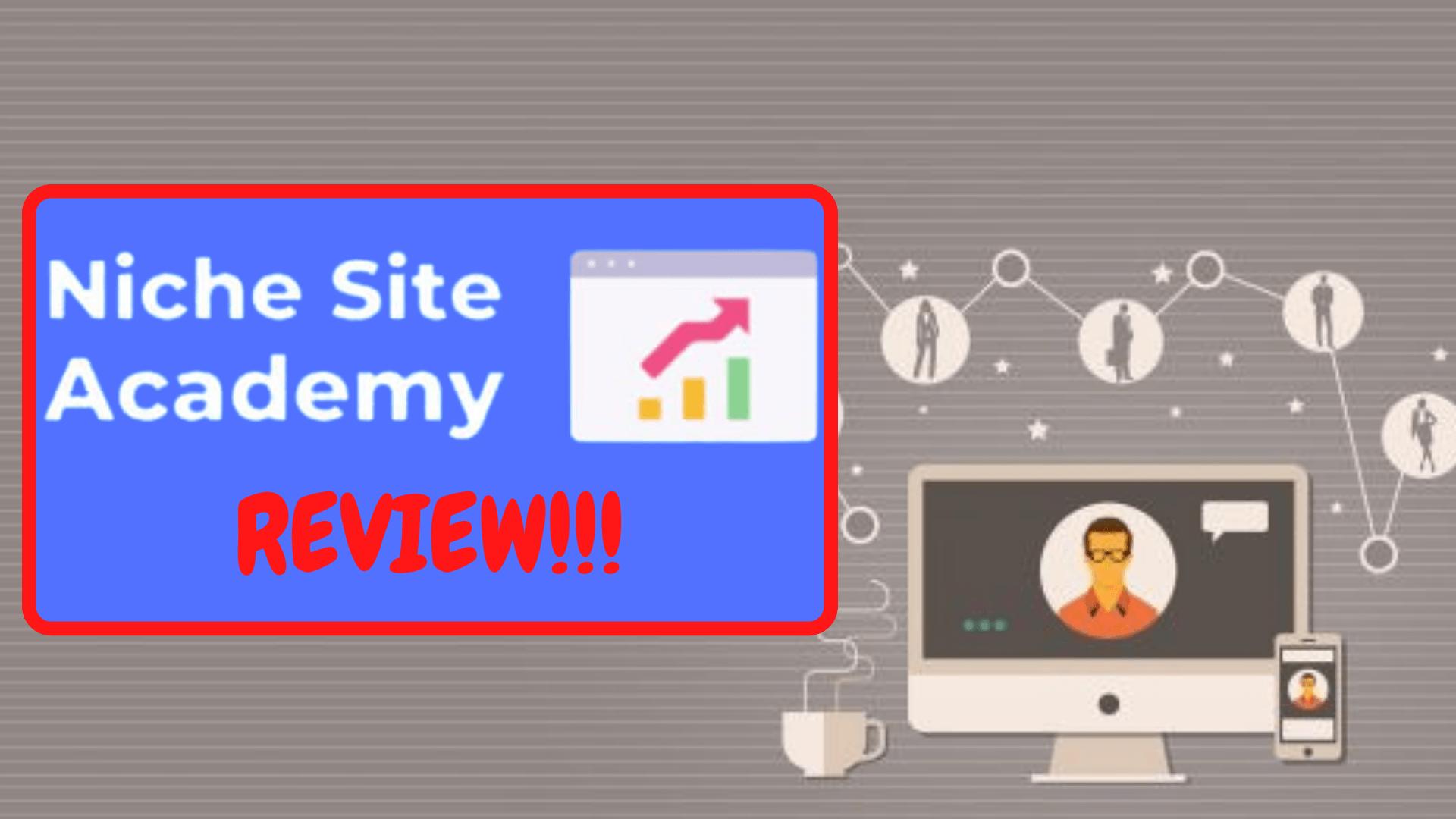 Niche Site Academy Frontpage