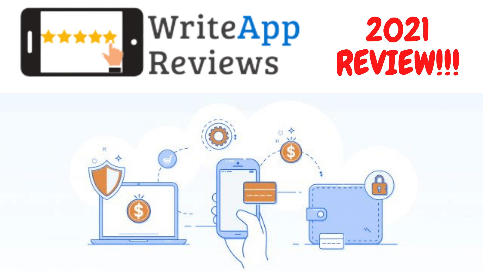 WriteApp Reviews Logo FRONTPAGE