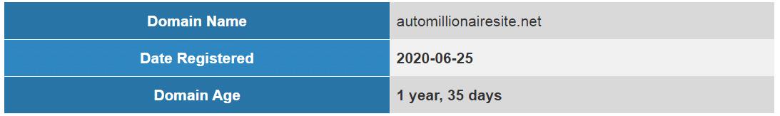 Auto Millionaire Site Image 3