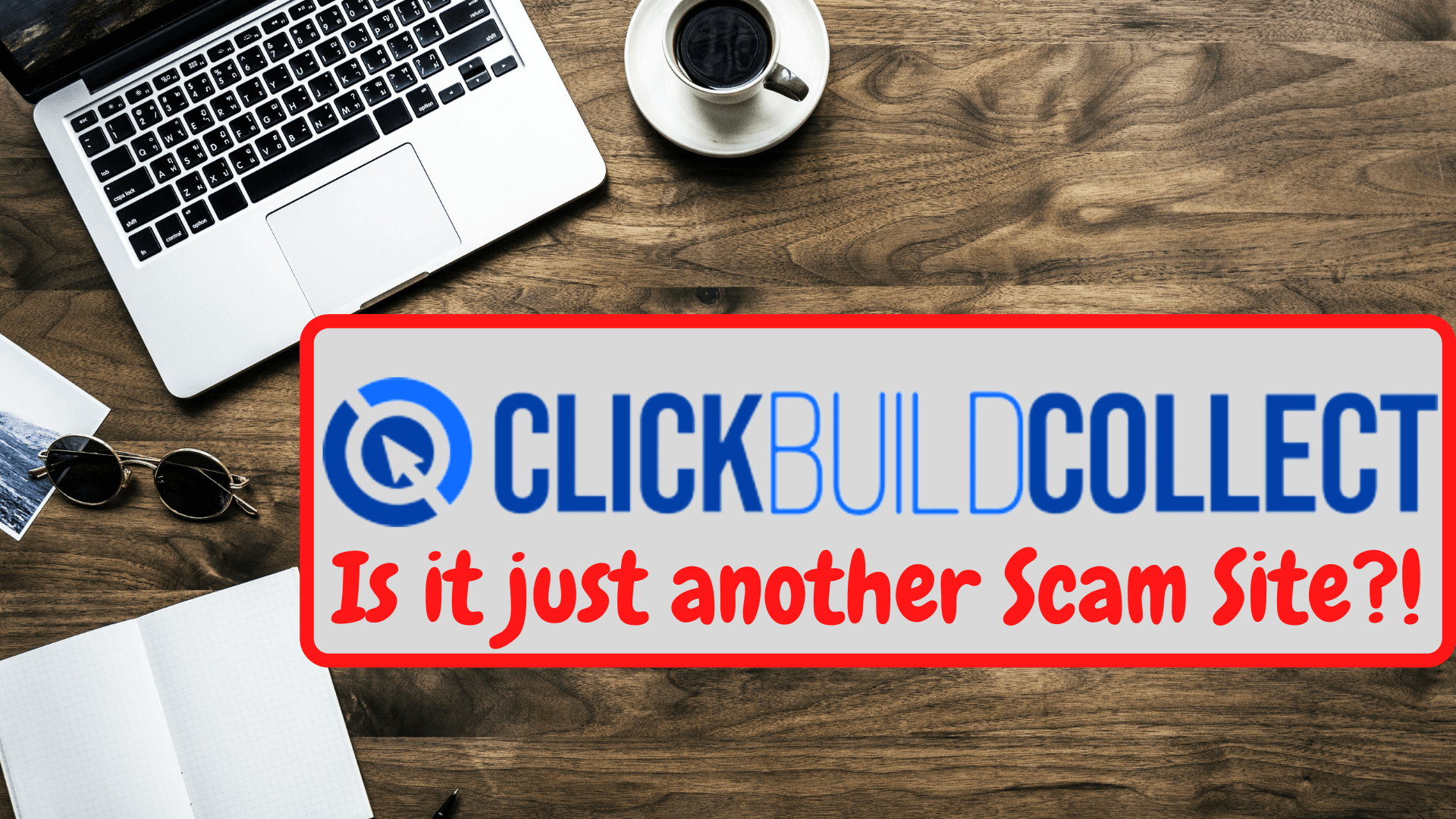 ClickBuildCollect FRONTPAGE